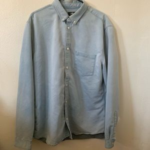 Men's Button Down Denim Shirt